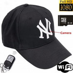 Скрытая камера в бейсболке