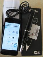 Шпионская ручка - скрытая FHD WIFI камера