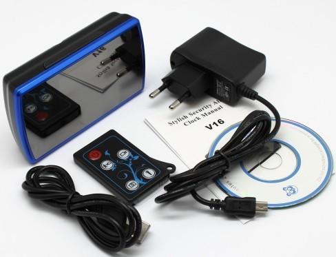 Часы будильник со скрытой шпионской HD WIFI 3G/4G камерой