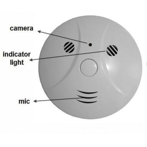 Детектор дыма с мини камерой